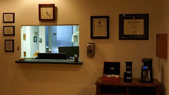 Office Tour - Reception