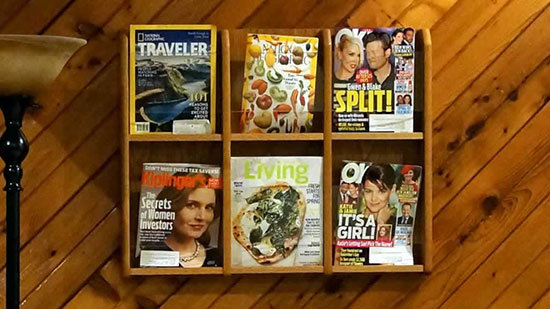Office Tour - Magazines