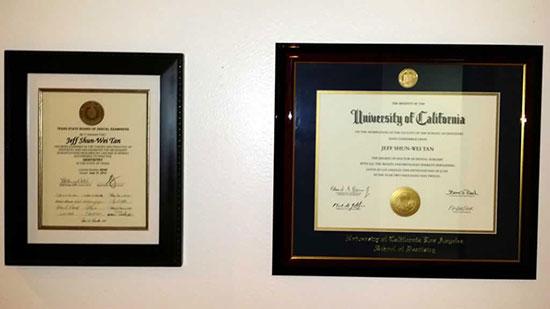 Office Tour - Diplomas